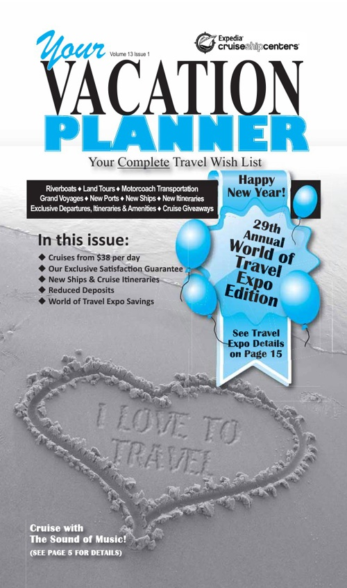 January 2013 Vacation Planner