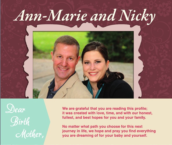 Ann-Marie & Nicky Adoption Portfolio