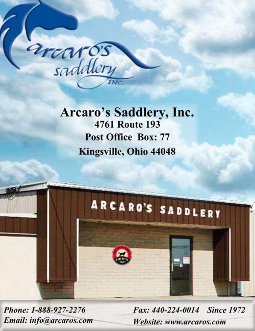 Arcaro's Saddlery Catalog