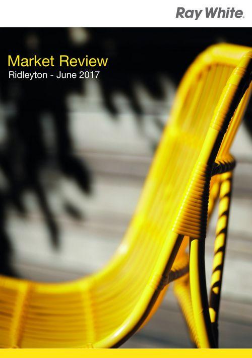 Market Review - Ridleyton