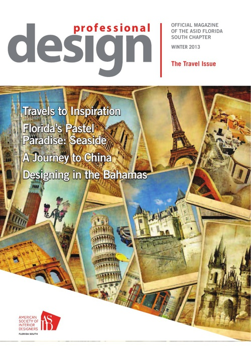 ASID Professional Design - The Travel Issue - Winter 2013