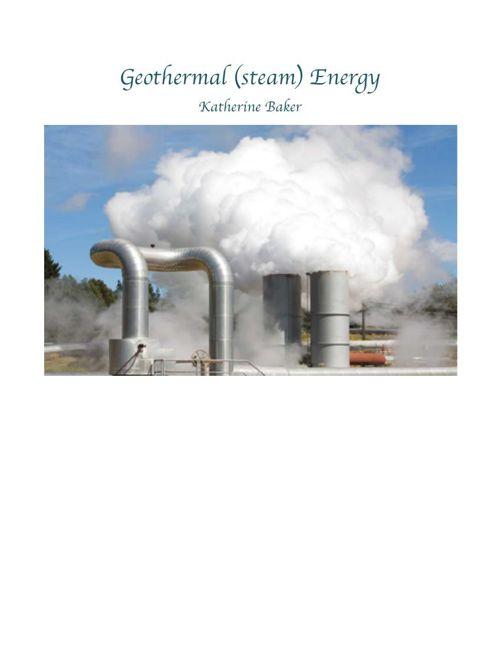 Geothermal book