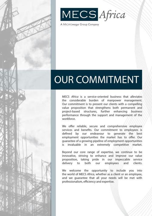 MECS Africa brochure