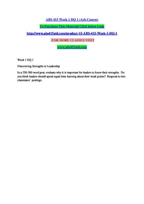 ABS 415 AID EDUCATION EXPERT / abs415aid.com
