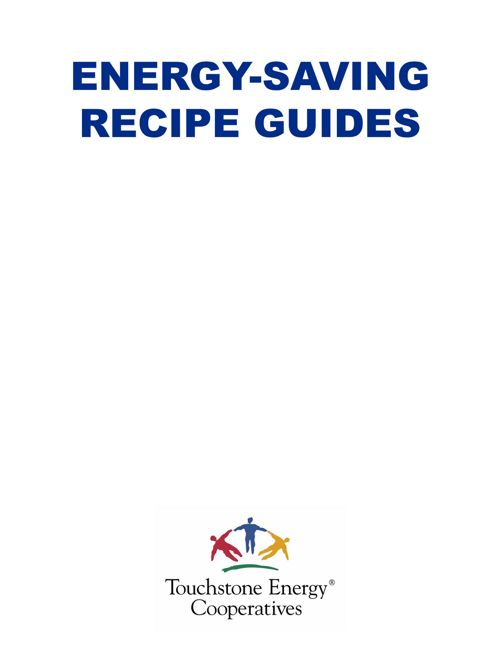 Energy Saving Recipe Guides