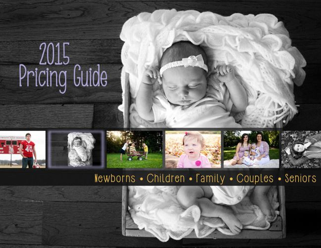 Alyssa Larie Photography 2015 Pricing Guide
