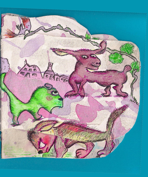 Blobimal Artists Book #1