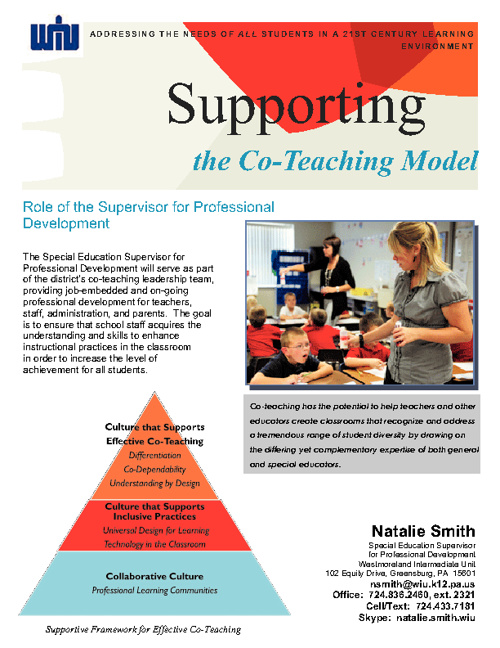 The Role of the Supervisor for Professional Development