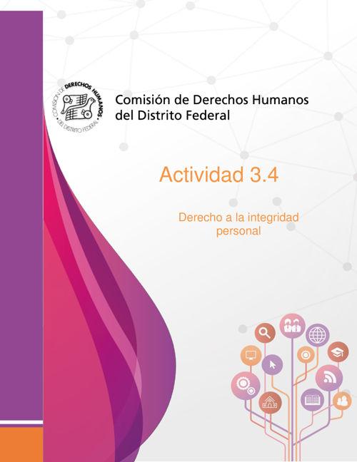 Actividad 3.4 Lectura Derecho a la integridad personal 2