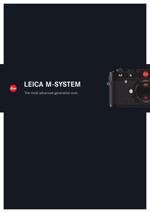 Leica Full M Brochure by Red Dot Cameras