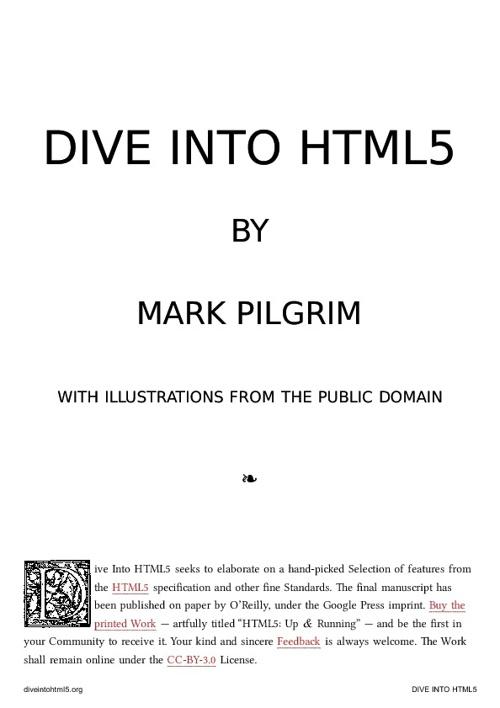 Div-e into HTML5 | en el blog de Jesusda