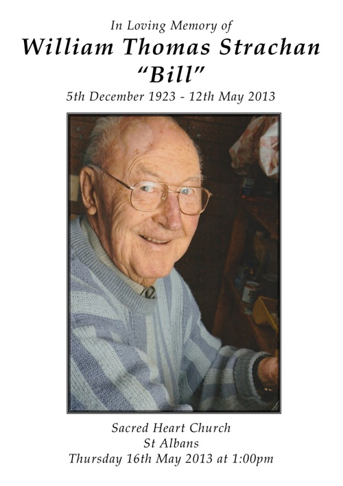 William (Bill) Strachan