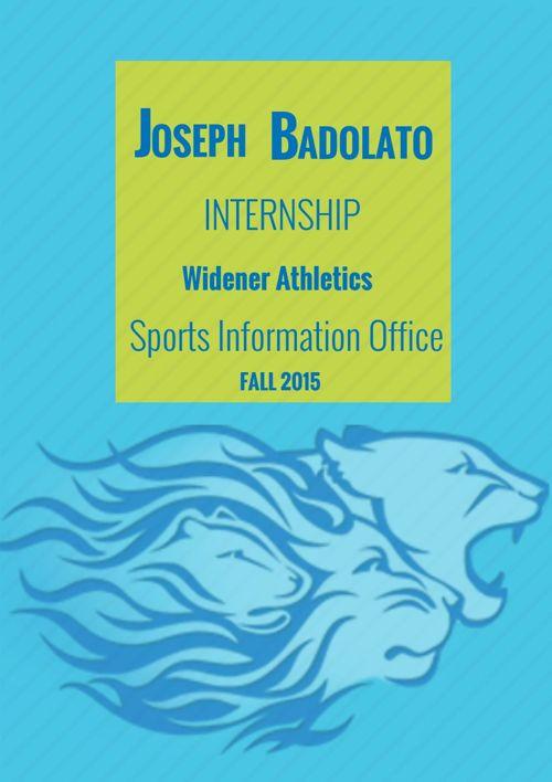 Internship: Sports Information Office