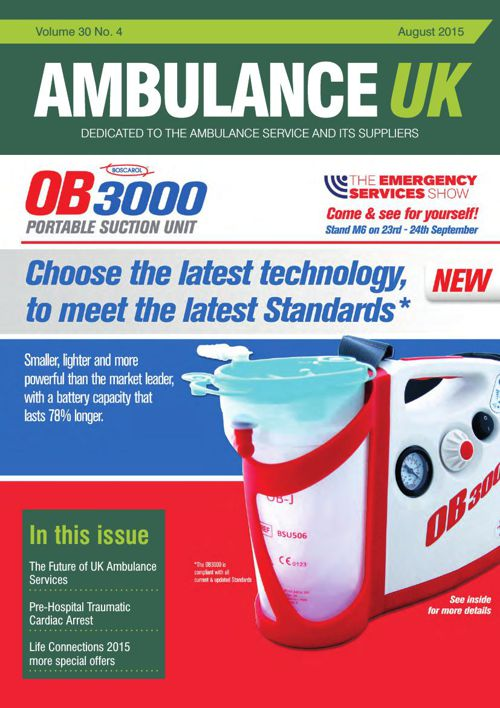 Ambulance UK - August 2015 Volume 30. Number 4