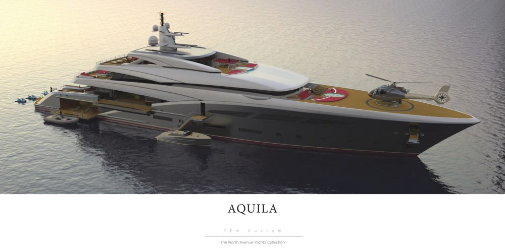 Worth Avenue Yachts Presents 72m AQUILA