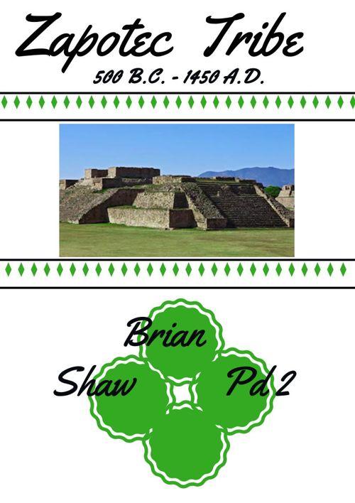 zapotec tribe