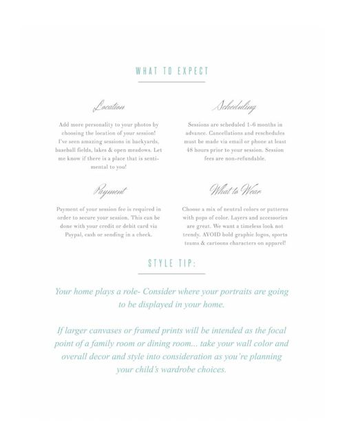 Dream Shoot Planner | Welcome Guide