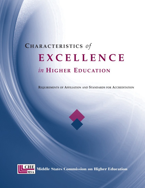 Characteristic of Excellence in Higher Education