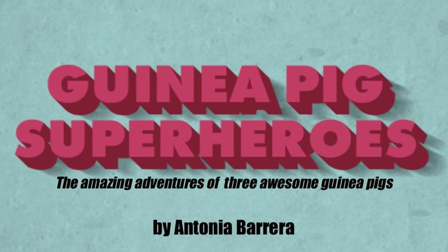 Guinea Pig Super Heroes