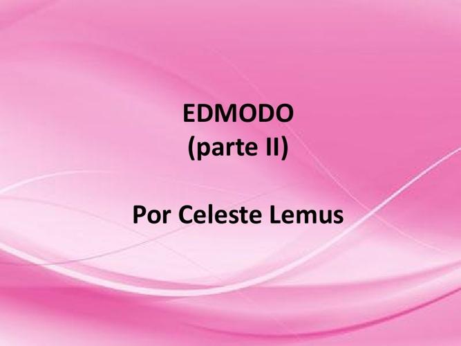 EDMODO II