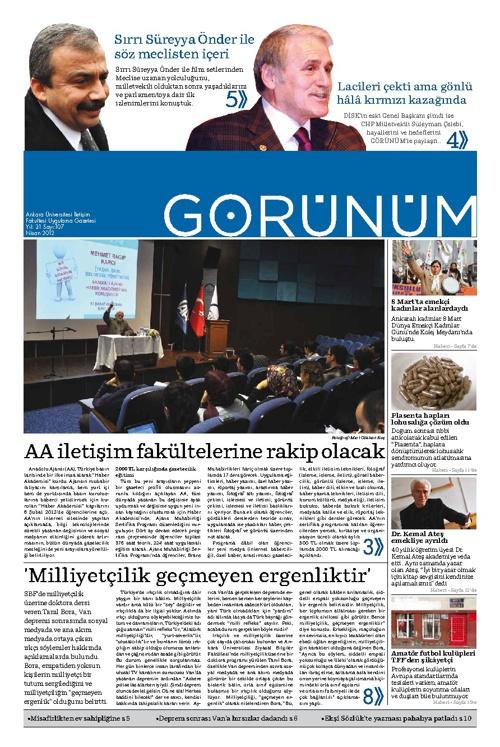 Görünüm 107 - Şubat 2012
