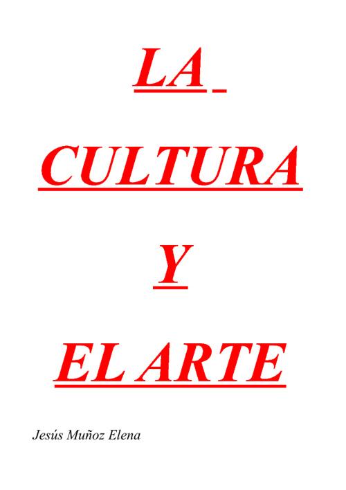LA CULTURA Y EL ARTE T13