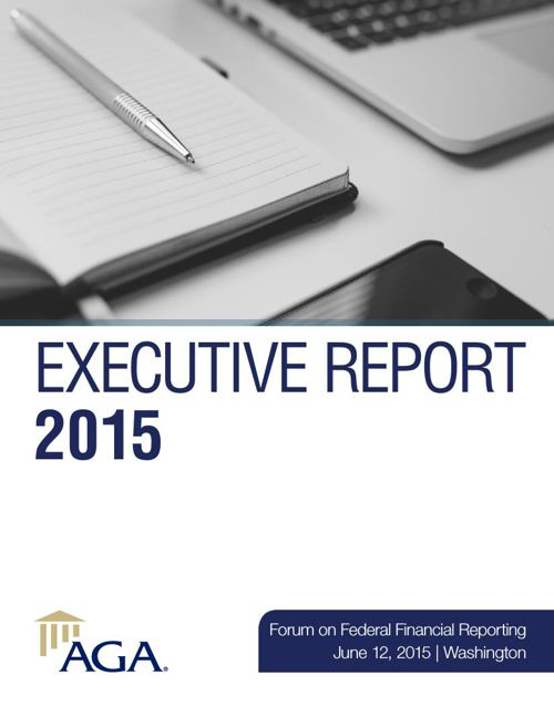 Executive Report 2015: Forum on Federal Financial Reporting