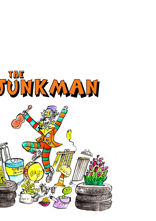 JUNK MAN booklet