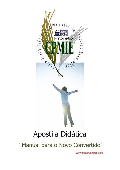 Apostila Didática - Manual para o Novo Convertido