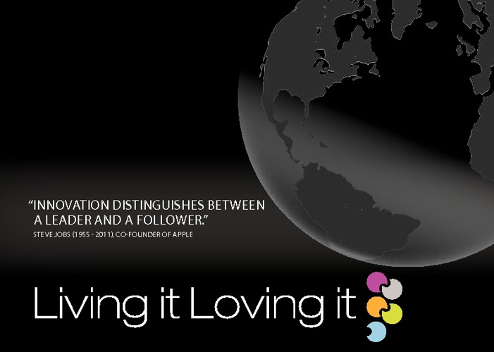 Living it Loving it Ltd. Corporate Brochure 2012