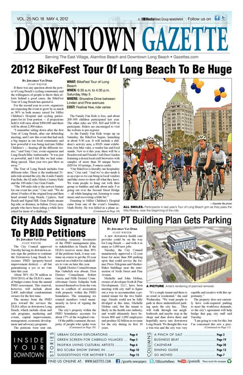 Downtown Gazette  |  May 4, 2012