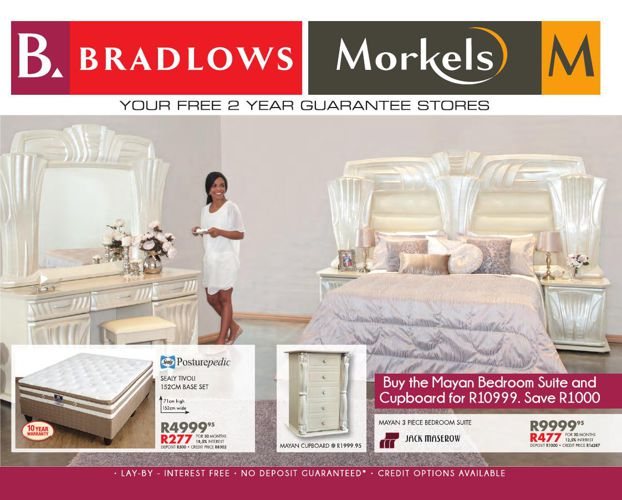 Bradlows Morkels Catalogue Valid from 22 June 2015