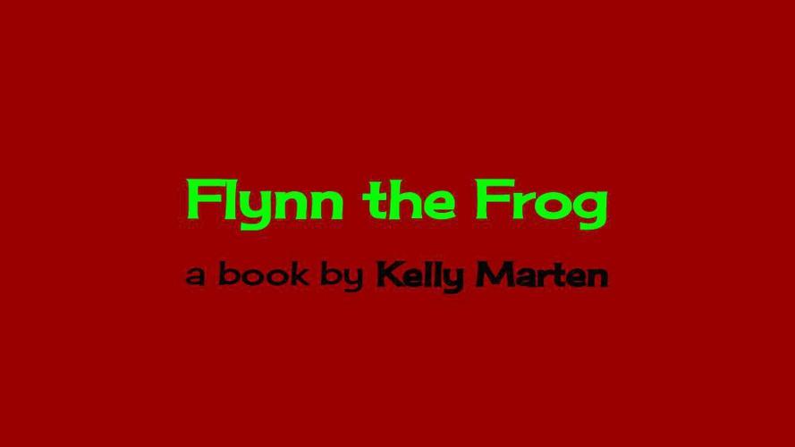 Children's book_Flynn the Frog