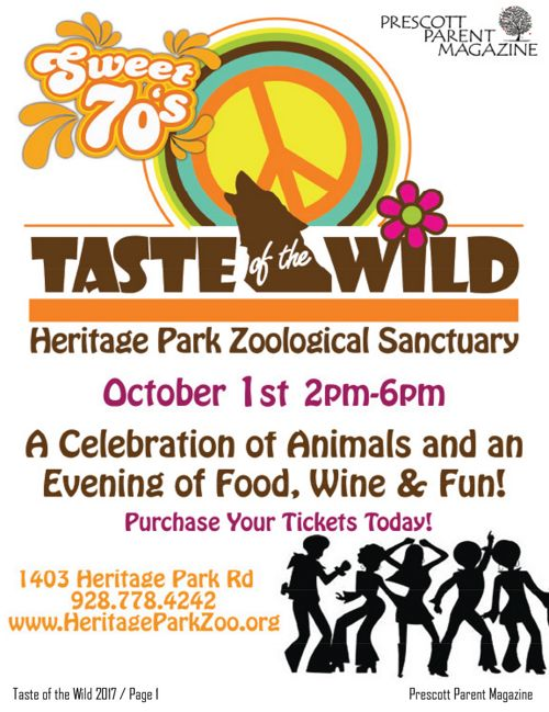 Heritage Park Zoo - Taste of the Wild 2017