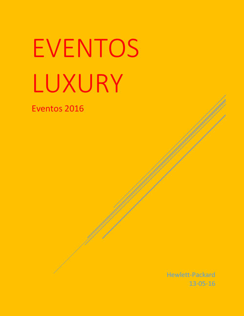 Noticias Luxury