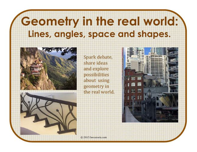 Exploring Geometry: Shapes, position, angles and lines (2)