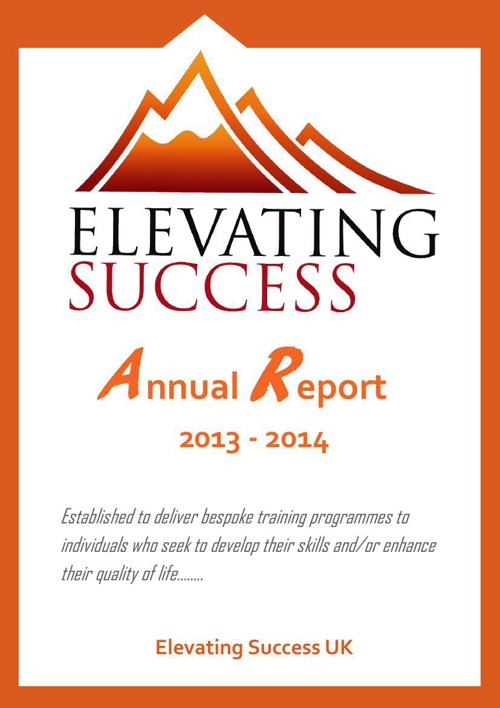 Elevating Annual Report 2013-2014