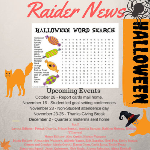 Raider News Fall 2016