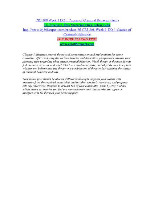 CRJ 308 EXPERT Teaching Effectively/crj308expert.com