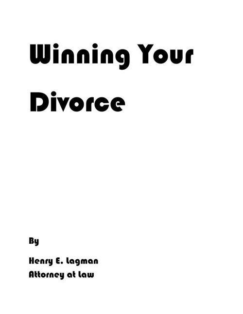 Winning Your Divorce Combined
