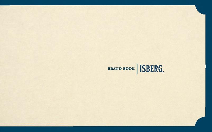 Isberg brand book