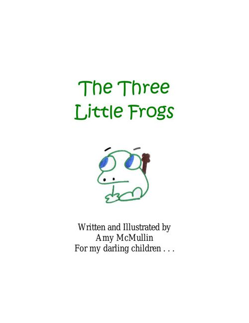 The Three Little Frogs