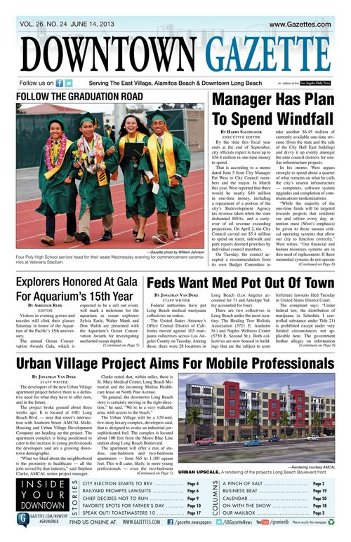 Downtown Gazette  |  June 14, 2013