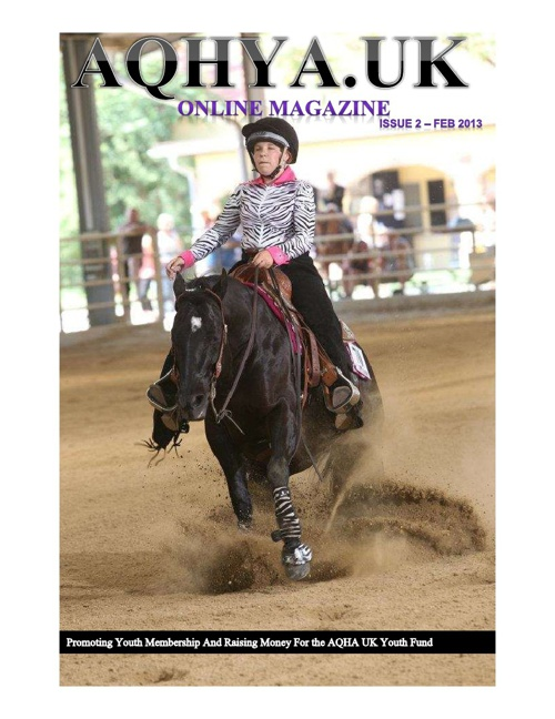 AQHYA UK Online Mag Feb 2013