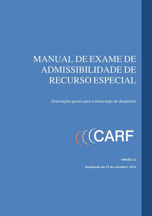 manual admissibilidade recurso especial versao 2 2 de 21 09 2016