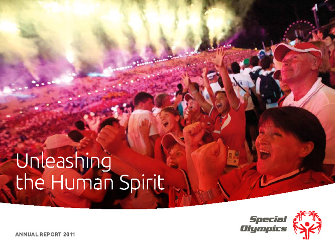 Special Olympics Annual Report 2011