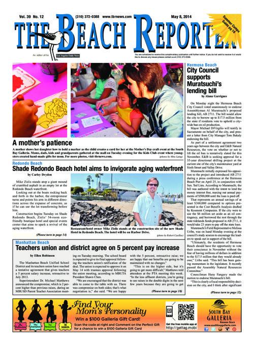 The Beach Reporter   5-8-14