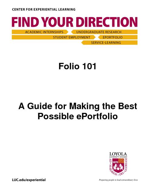 Folio 101 Guide