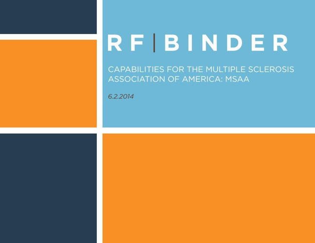 RF|Binder Capabilities for MSAA