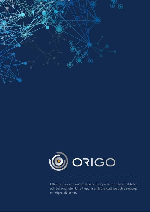 ORIGO - Broschyr